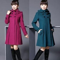 Free shipping Hot Sale! new Winter coat women winter coat fashion warm wool women's coat casacos femininos