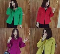 Free shipping 2014 new arrivel jackets women blazer female roupas femininas winter jacket women hot sale