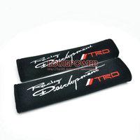 Universal  2pcs 2inch  T Car Seat belt Shoulder Pads Comfortable Shoulder Pad T06 Car Vehicle Harness Strap Cover Cushion