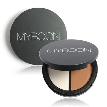 Высокое качество макияж профессиональный 2 цвета матовый бронзатор маркер контур ...