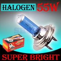 H7 Super Bright White Fog Halogen Bulb 55W Car Head Light Lamp External headlight auto parts promotion factory directly parking
