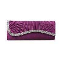 2014 Brand New Ladies fashion wedding clutch evening bags women's diamond handbag Party Club clutch purse Free Shipping