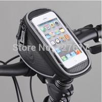 "ROSWHEEL 4.2"" 5.0"" 5.5"" 1L waterproof Bike Bicycle Cycle Cycling Frame Tube Panniers Waterproof Touchscreen Phone Case Bag"