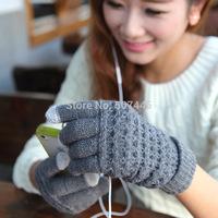 New touch screen gloves winter warm super fashion warm gloves 1 set/lot