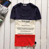 DQ-67 Summer Fashion Harajuku Hip hop Short sleeve Cotton Print Sports Streetwear Men's clothing hiphop funny t shirts