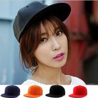 Free shipping!  7 colors adjustable cap DIY light board hat hat baseball hat blank baseball cap hip-hop hat