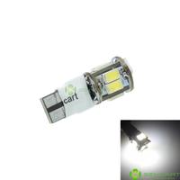 T10 LED 2-Mode White 5W 11X5630SMD 400-550LM 6000-6500K  for Car Signal Light (DC12-16V)