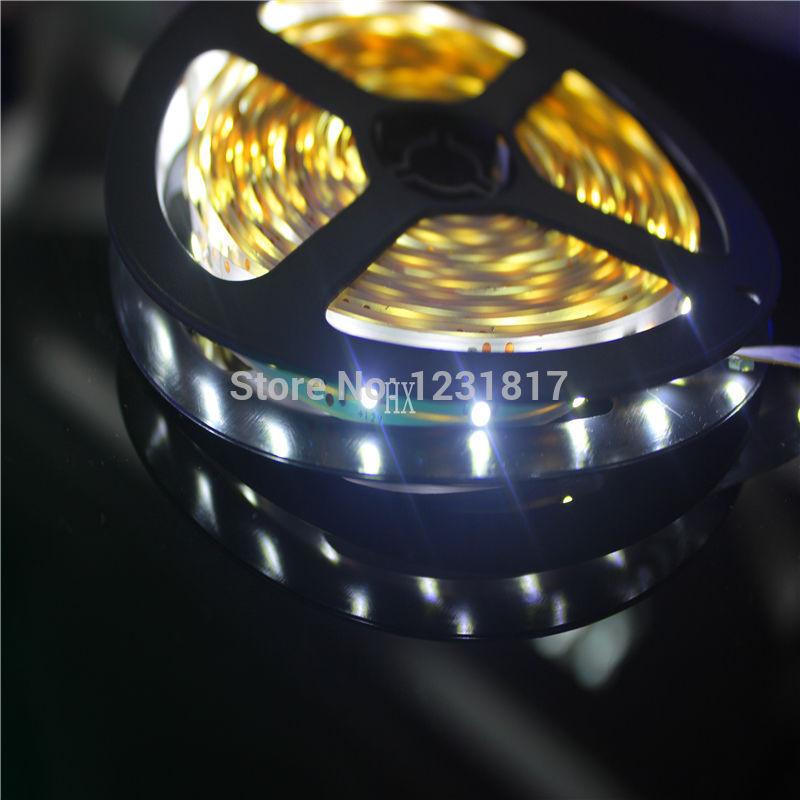 5m 300 LED SMD3528 12V Flexible Light 60 led/m,White Color LED Strip 6000-6500k christmas lights rgb install free play store(China (Mainland))