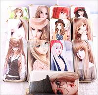 SD doll cute girls wallet fashion wallet PU super soft fabrics Princess hand bag
