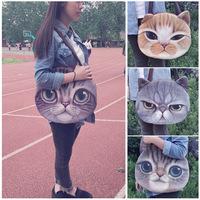 Crazy Sale! 2014 Designed Spring Women Shoulder Bag Cat Shape Handbag Fashion Retro Women Bag,gift a same pattern Wallet