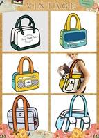Wholesale Retail bag carry in space 3d shoulder bag gismo handbag