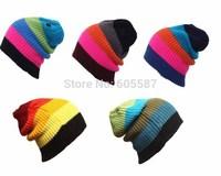 1 pcs Retail 2014 New Fashion Winter Beanie BU Snowboard Skiing Cap Men Women Skating Hats Knitted Skullies Beanies 0062