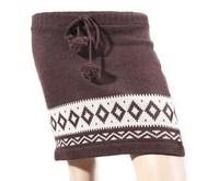 Women winter wool skirt Mini skirt thick warm lady skirt Tassel gonna jupe saia yubka