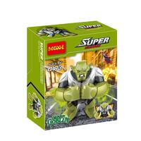 Decool 0183 Building Blocks Super Heroes Avengers Action figures Minifigures 7cm Big Green Goblin Figures Compatible With Ligo