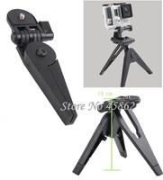 Portable Folding Tripod Stand +tripod adapter+screw for HD Hero3 Hero2 Hero1 Camera