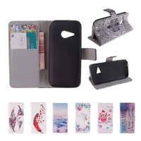 For HTC One mini 2 M8 mini Hot Wallet Flip PU Leather Case Magnetic Case with Card Holder Smart Stand Skin Bags Cover