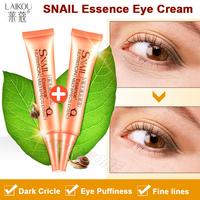 Full Effect Snail Essence Eye Cream Best Care for Eye Wrinkles Puffiness Fine lines Dark Circle Eye Lift Cream Anti Aging 2PCS