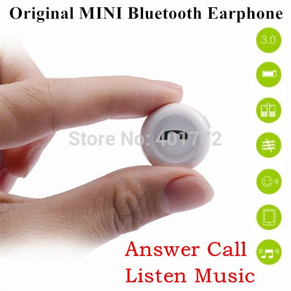 BrandFactory Direct! Ultra Light Imported CSR Wireless Mini Stereo Bluetooth Earphone Headset+ MIC+ Answering Calls+Listening Mu(China (Mainland))
