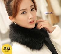 HOT SELLING!Fashion  Winter  Women's Faux Fur Scarf Raccoon Fur Cap fur collar false collar free shipping