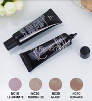 Free shipping  Makeup STUDIO FIX FLUID SPF30/PA+++ Foundation Liquid 30ml! (120 Pcs/Lot)