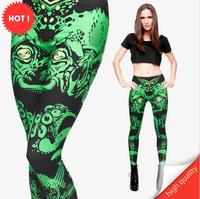 Fashion Sexy Harajuku 3D Digital Print Leggings Winter Fitness High Elastic Women Pants
