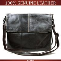 Fashion 2014 Hot men messenger bags genuine leather leisure men shoulder bag briefcase men's leather bags Y9186 drop ship