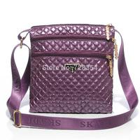 2015 Women's quilting bags folding small messenger bag two big main pockets high quality B277