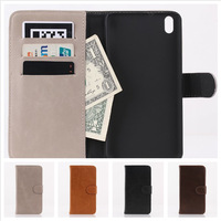 1Pcs Retro Stand Wallet Flip Cover Leather Case for HTC Desire 816 Mobile Phone With Card Slot Stand 4 colors available