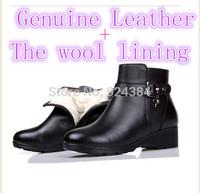 bottes femmes 2014 genuine leather women snow boots,big yards australian boots, flats womans boots winter casad emu ladies boots