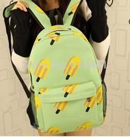 Free Shipping Fashion New Design Canvas Candy Girl Backpack Bag  Boy School Bag