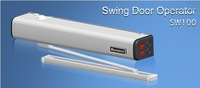 automatic swing door opener for parking lot system