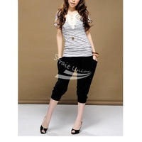 New 2012 Fashion Lady's Colorful Drape Harem Pants Hip-Hop Stretch Trousers 5 Colors