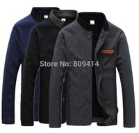 2014 Fashion Winter Jacket Men Brand Sport Padded Coats blazer Man Button fleece Outerwea homens jaqueta Plus Size Hot Sale
