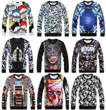[Magic] Men sweatshirt new arrival Hot sell good quality 3d sweatshirt men print 3D casual sweatshirts 21models free shipping(China (Mainland))