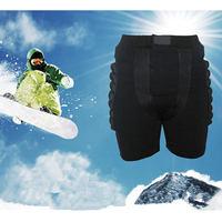 Free Shipping Black Kids Adult Man Woman Short Protective Hip Butt Pad Pants Ski Skate Snowboard Size M L XL XXL XXXL