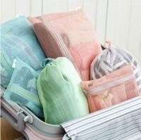 Mesh Outdoor Travel Storage Bag Mix Set Series(4 bags/set)