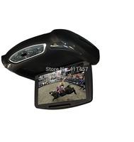10 inch car flip down screen with games USB SD IR