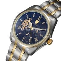 2014 Tevise Automatic mechanical watch Self-Wind brand luxury brand men wristwatches watch for men relogio masculino tourbillon