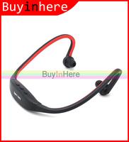 Wireless Running Sports Micro SD TF Card MP3 Headset Handsfree In Ear Earphones earphone Headset Headphone Audio Music Player