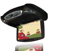 10 inch car flip down monitor sd with games USB IR