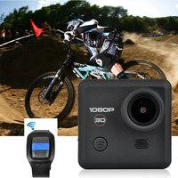 2014Newest Sport Camera Full HD Sport Camera+Smart Watch+ Waterproof Phone Case 60Meter Video 170 Angle Waterproof Action Camera