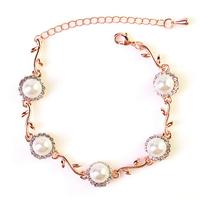 Wild Flowers Elegant Pearl Bracelet Bracelets Jewelry