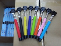 Z07-5S Extendable Wired Monopod Selfie Stick Tripod Handheld Monopod Cable Take Pole for iPhone IOS Android Smart Phone
