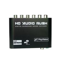 5.1R HD digital audio decoder DTS/AC3 audio and video converter