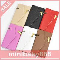 Plaid  zipper wallet PU leather wallet hard magnetic flip bracket holster Samsung Galaxy Note4 N9100 N9108v