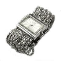 New  Lady Bracelet Watch Fashion Quartz  Diamond Chains Wristwatch 85981
