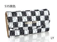 Double zipper wallets brand Michaelled purse women leather bags ladies designer korss Fashion women's wallet