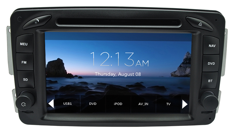 Автомобильный DVD плеер Hotaudio DVD/mercedes Benz Vaneo Viano W203 SLK W168 CLC209 W209 W463 GPS, A8 , RDS, BT, 3G джой dvd