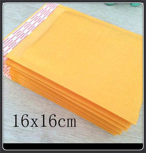 Пакет для почтовых отправлений 100 x 6.3x6.3 , 160x160mm Kraft Bubble Mailers 008
