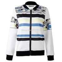 Deluxe Men's Print Sports Jacket Coat